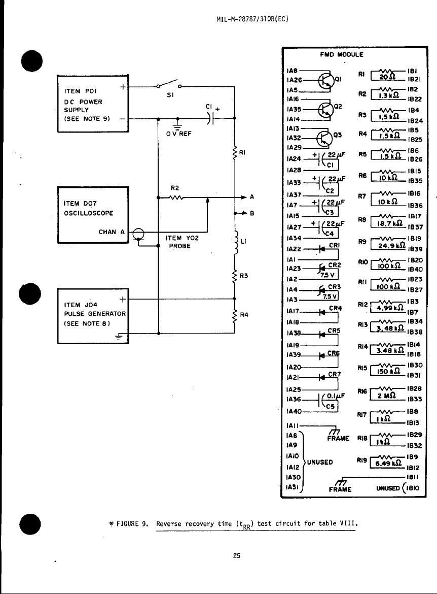 figure 9  reverse recovery time  trr  test circuit for