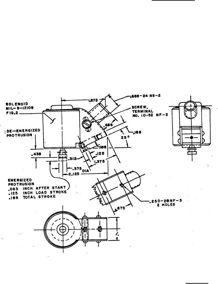 Solenoid Electrical Class 2 Machine Gun Cal 30 12 Volt Dc 8